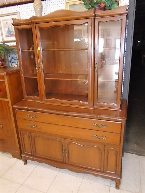 Vintage Kling Maple Hutch