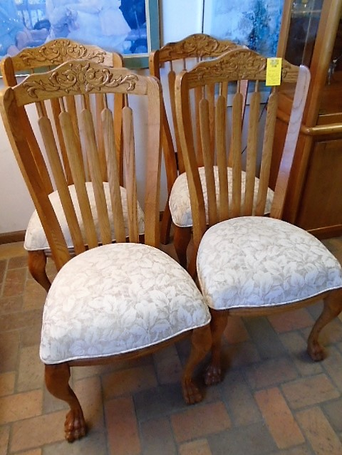 Rustic Set of 4 Dining Chairs **SOLD**