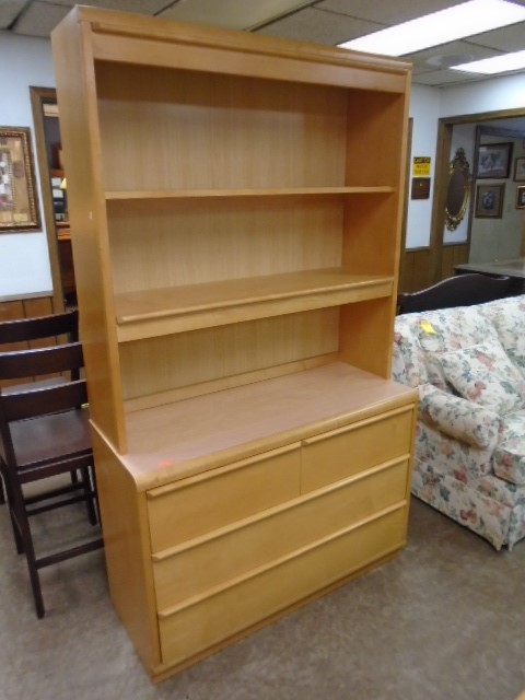 Stanley Dresser and Shelf