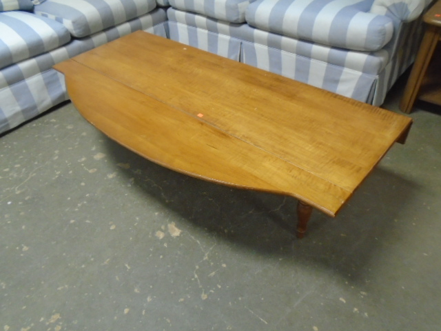 Maple Drop Leaf Coffee Table