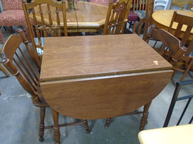 Drop Leaf Table and 2 Chairs **SOLD**