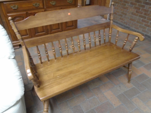 Vintage Maple Bench