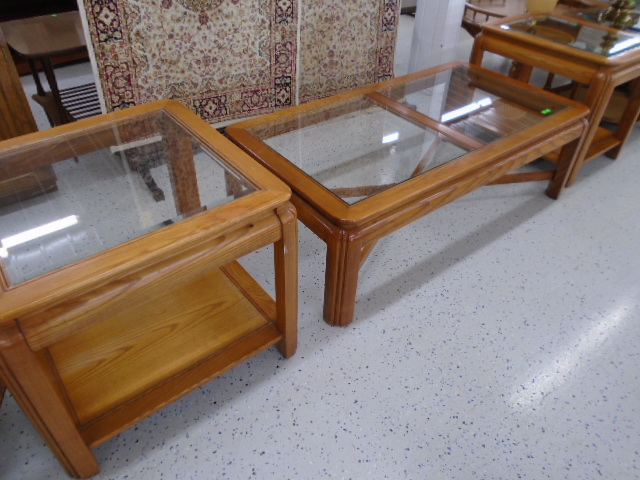 3 Piece Living Room Table Set