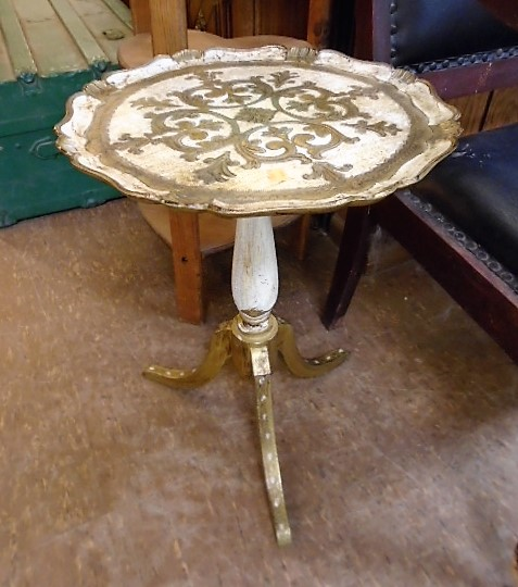 Ornate Accent Table