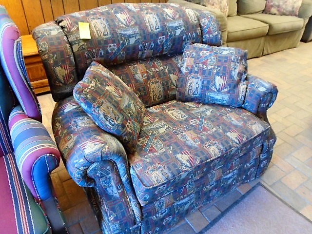 Chair and 1/2 Recliner